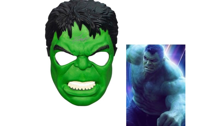 """""""The Incredible Hulk"""" Mask with Stan Lee Printed Signature"""