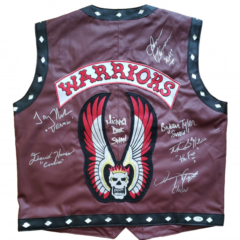 The Warriors Hand Signed Vest