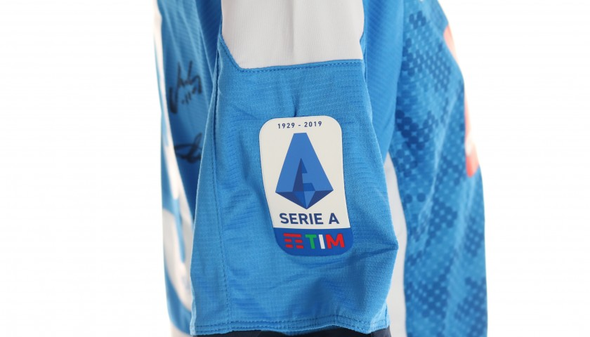 Milik's Official Napoli Shirt - Signed by the Squad
