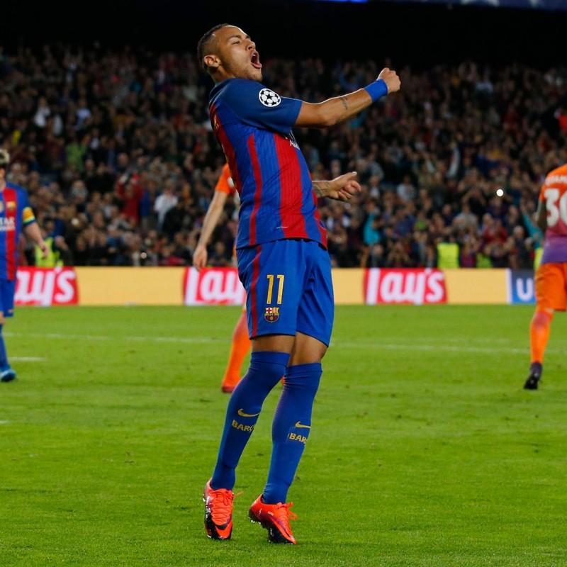 Neymar's Match Shirt, Barcelona-Manchester City 2016