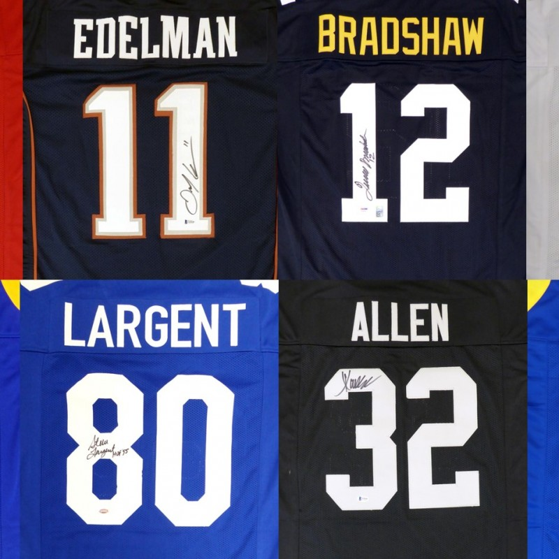 Football Legends Mystery Box: Hand Signed Jersey