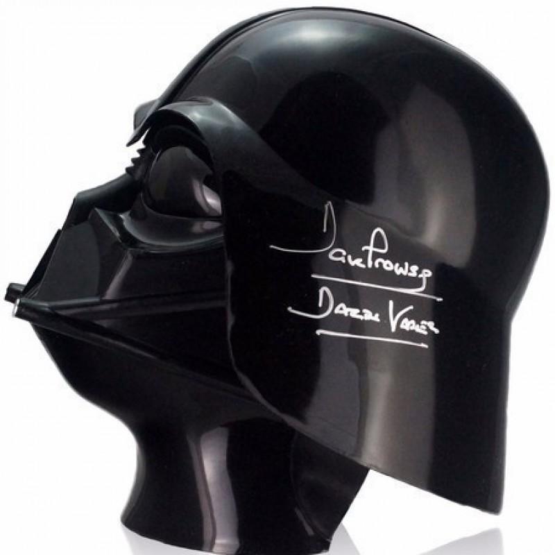 Darth Vader Signed Star Wars Helmet