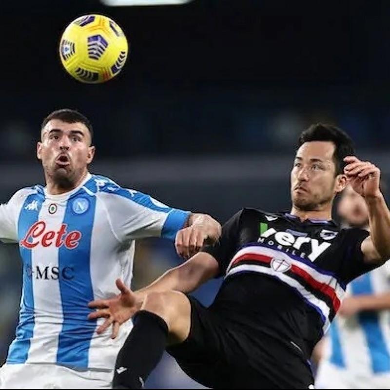 Yoshida's Worn Shirt, Napoli-Sampdoria 2020, Special Maradona