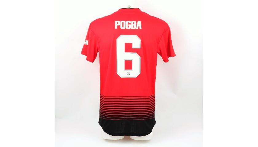 Pogba's Match Shirt, Chelsea-Manchester United 2019