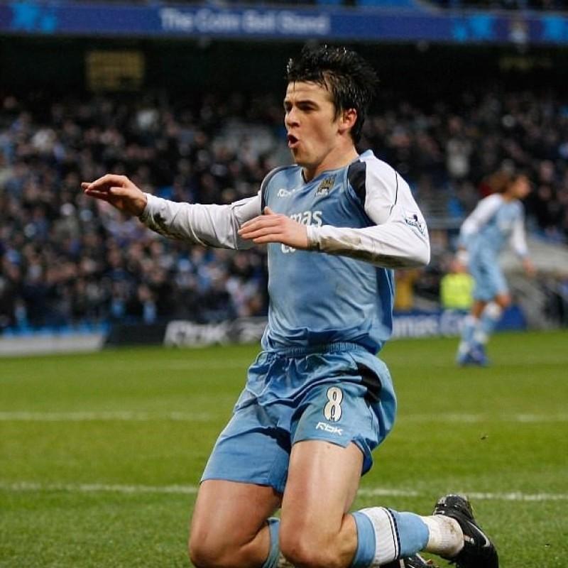 Barton's Manchester City Match Shirt, 2006/07