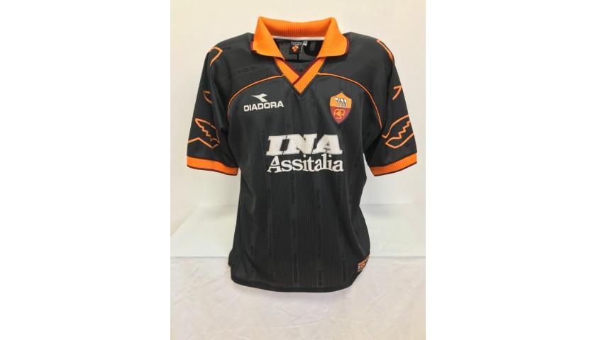 Maglia Gara Totti Roma, 1999/00 - Autografata