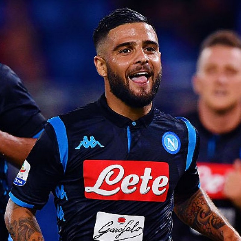 Insigne's Official Napoli Signed Shirt, 2018/19