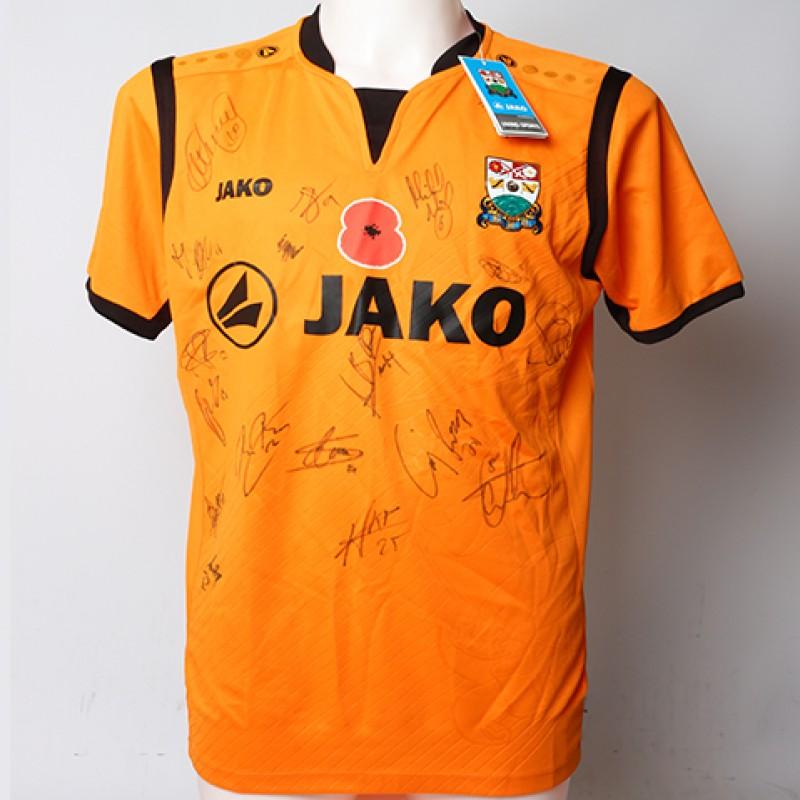 Poppy Shirt Signed by Barnet F.C.