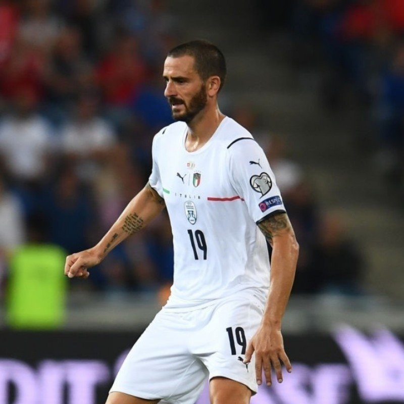 Bonucci's Match Shorts, Switzerland-Italy 2021