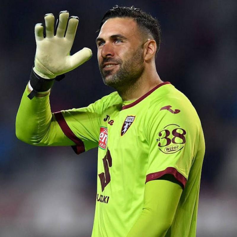 Sirigu's Official Torino Signed Shirt, 2019/20