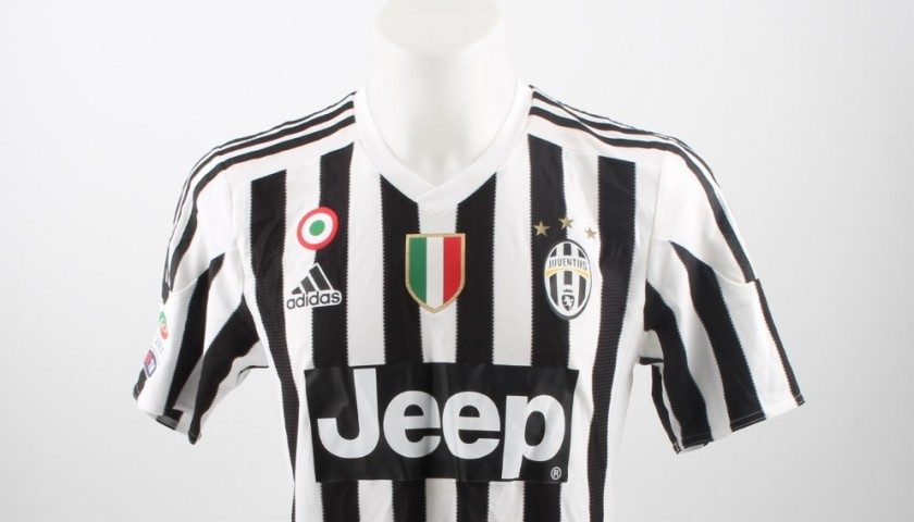 Match worn Dybala, Juventus-Inter Serie A 28/02/16 - signed