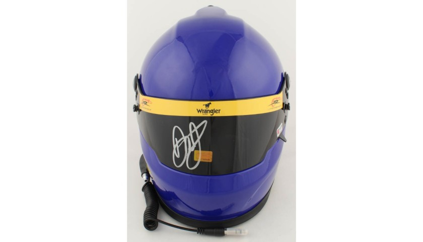 Dale Earnhardt Jr. Signed NASCAR Helmet