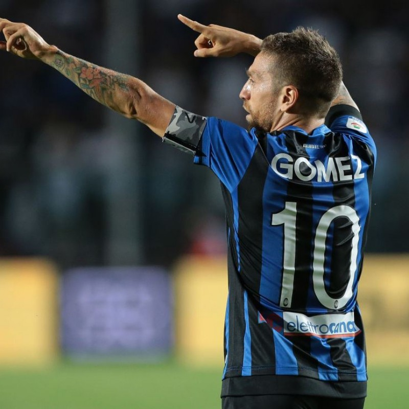 Papu Gomez's Official Atalanta Signed Shirt, 2018/19 Season
