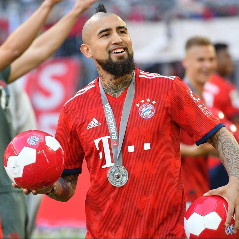 Official Bayern Munich Football - Signed by Arturo Vidal