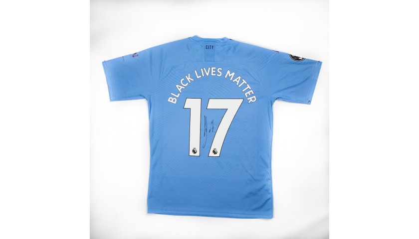 Win a Match-Issued Shirt Signed By Kevin De Bruyne