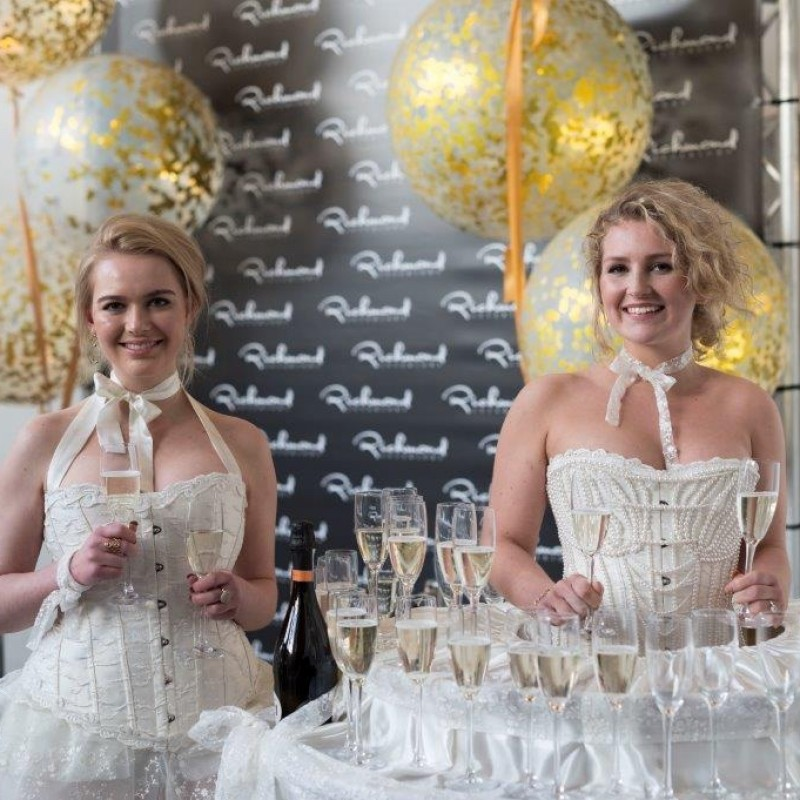 Champagne Queen Service for up to 50 People