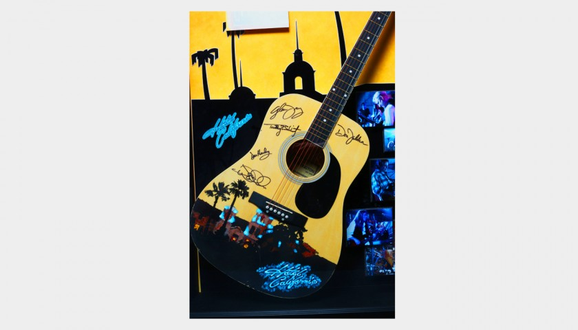 Personalized Guitar Signed by the Eagles