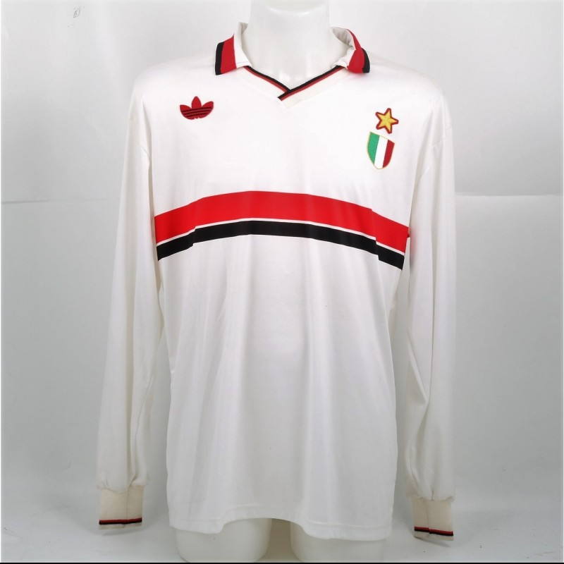 Tassotti's Milan Shirt, Issued for the 1992/93 UCL Season