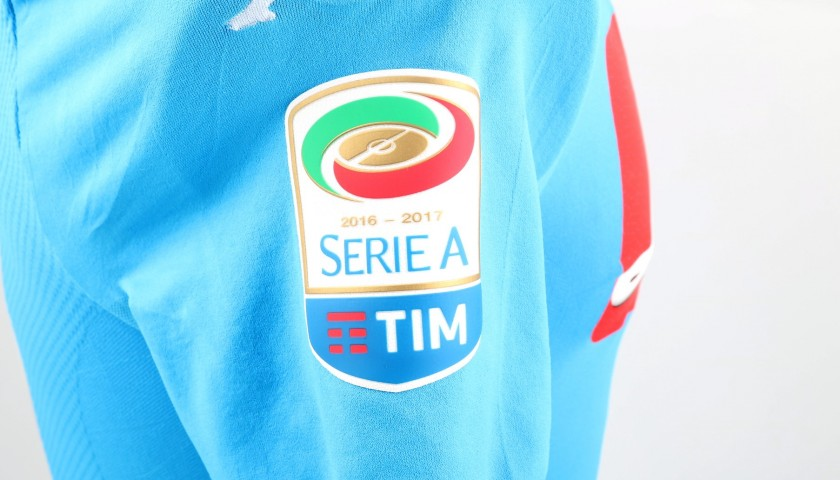 Hamsik's Match-Issued/Worn Napoli Shirt, 2016/17 - Signed