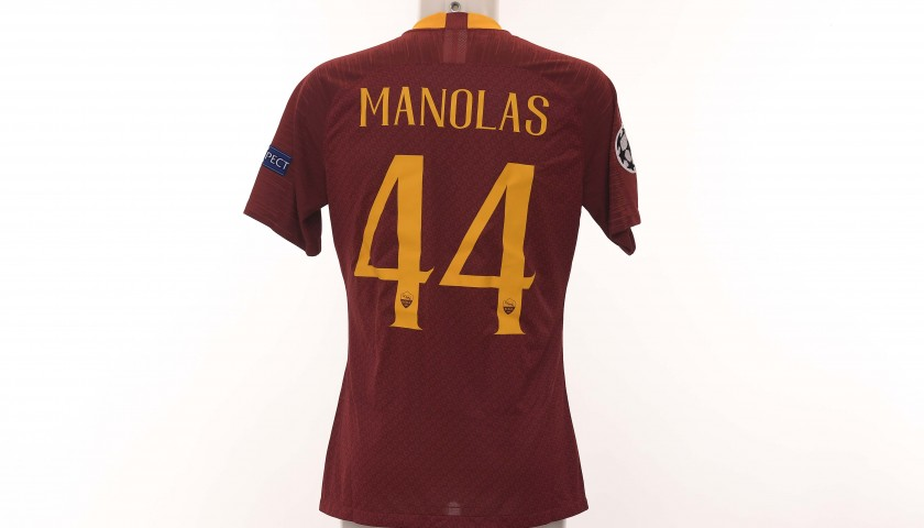98d8a6fd4 Auction Manolas  Match-Issue Shirt
