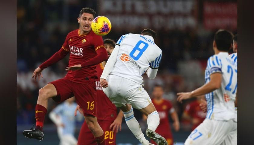 Mert Çetin's Worn and Signed Shirt, Roma-SPAL 2019