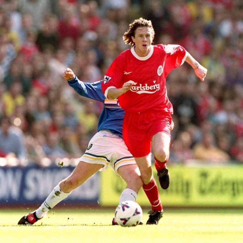 McManaman's Liverpool Worn Shirt, PL 1998/99