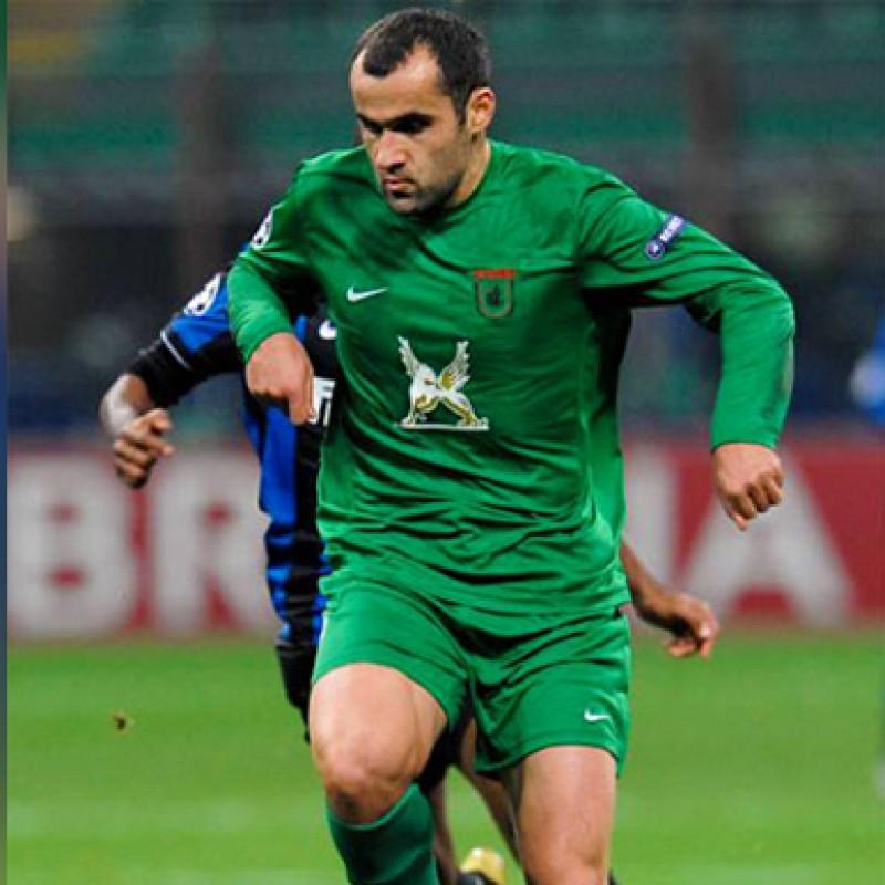 Maglia Salukvadze indossata Inter-Rubin Kazan 2009