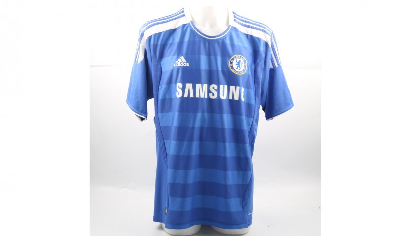 competitive price 7aa2e b6481 Signed Official Mata 2011/12 Chelsea Shirt - CharityStars