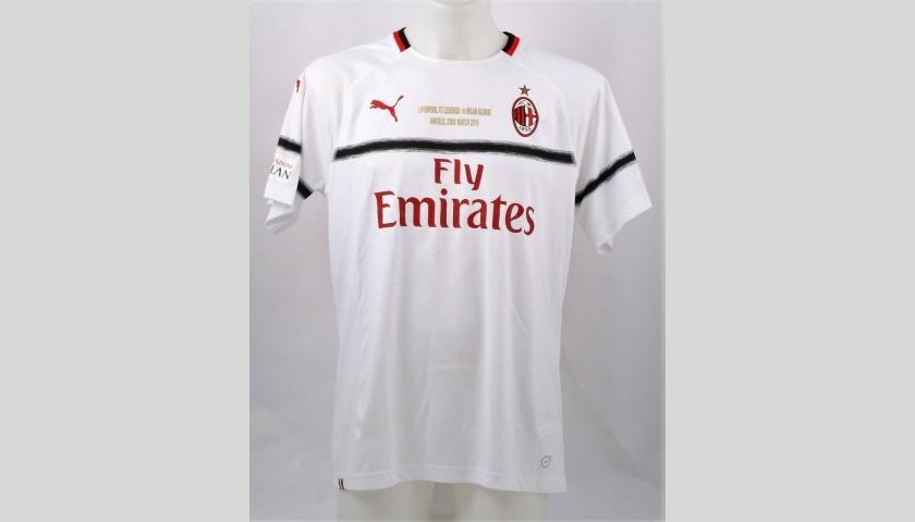 ad8703debbc3dc Ambrosini's Worn and Signed Shirt, Liverpool-AC Milan 2019 - CharityStars