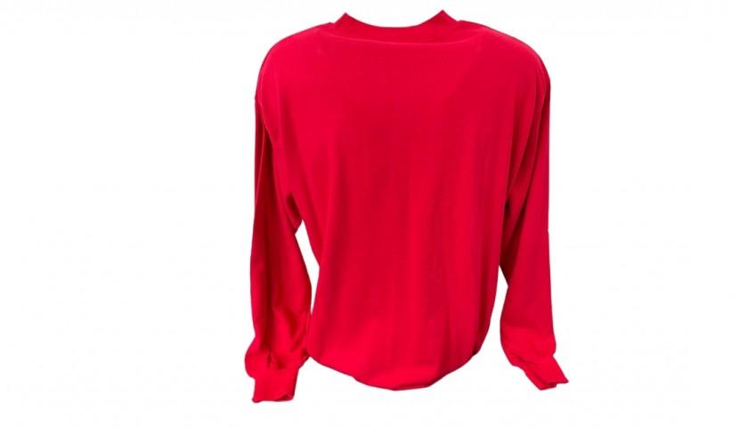 England Retro Shirt - Signed by Beckham