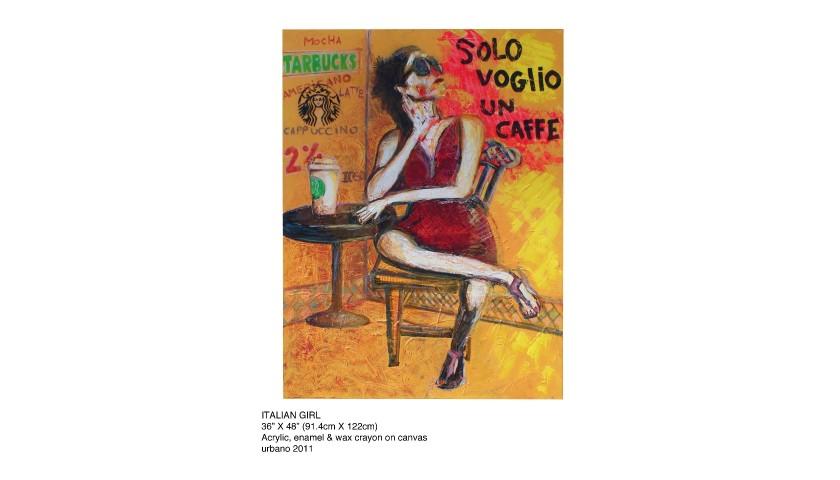 """Italian Girl"" by Manuel Oliver"