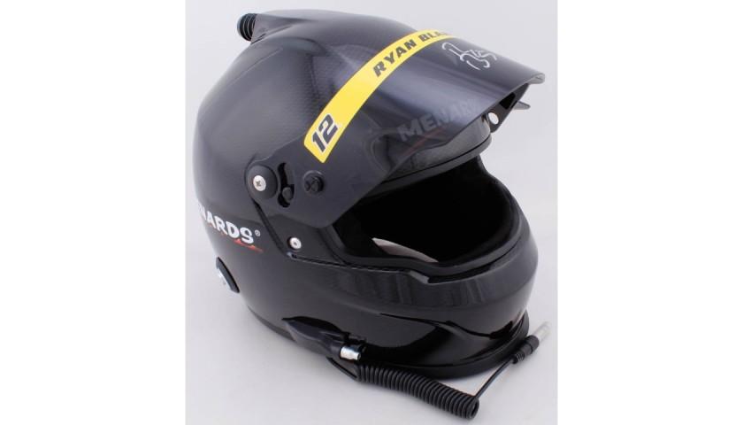 Ryan Blaney Signed NASCAR Helmet