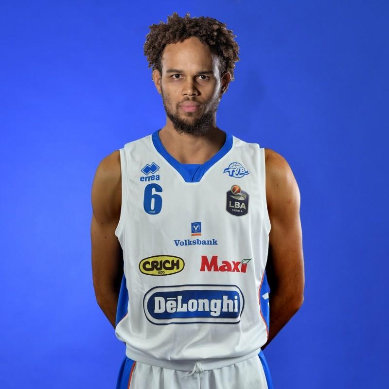 Completo da gara ufficiale De'Longhi Treviso Basket, indossato da Ivan Almeida nella stagione 2019/20 in Serie A