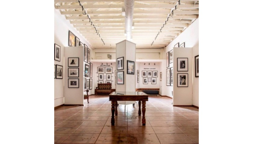 Framed Rolling Stones Photo and Private Tour of Mr. Musichead Gallery in LA!