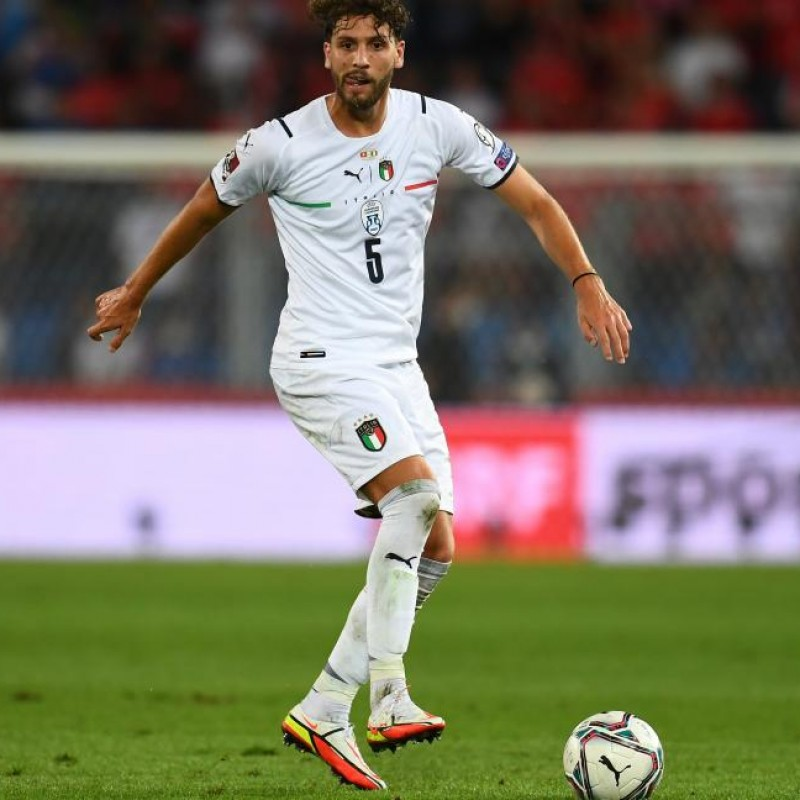 Locatelli's Match Shorts, Switzerland-Italy 2021