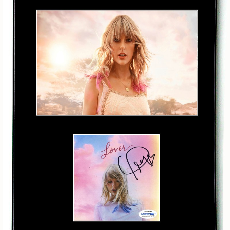 Taylor Swift Hand Signed Framed Display