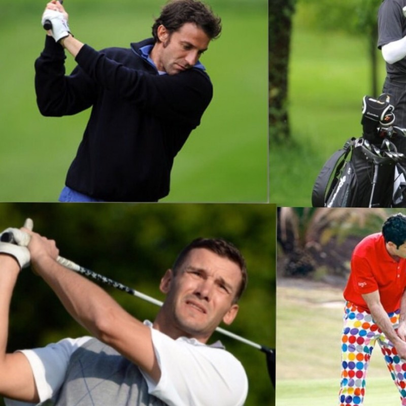 Play golf with Football Legends at Royal Park I Roveri, Turin
