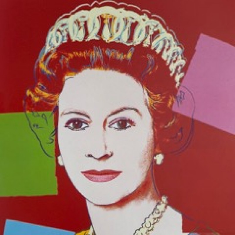 """Queen Elizabeth II"" by Andy Warhol"