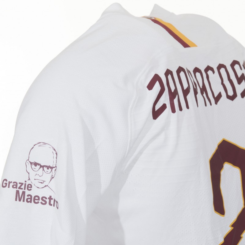 "Zappacosta's Match-Issued Shirt, Roma-Parma 19/20 - ""Grazie Maestro"""