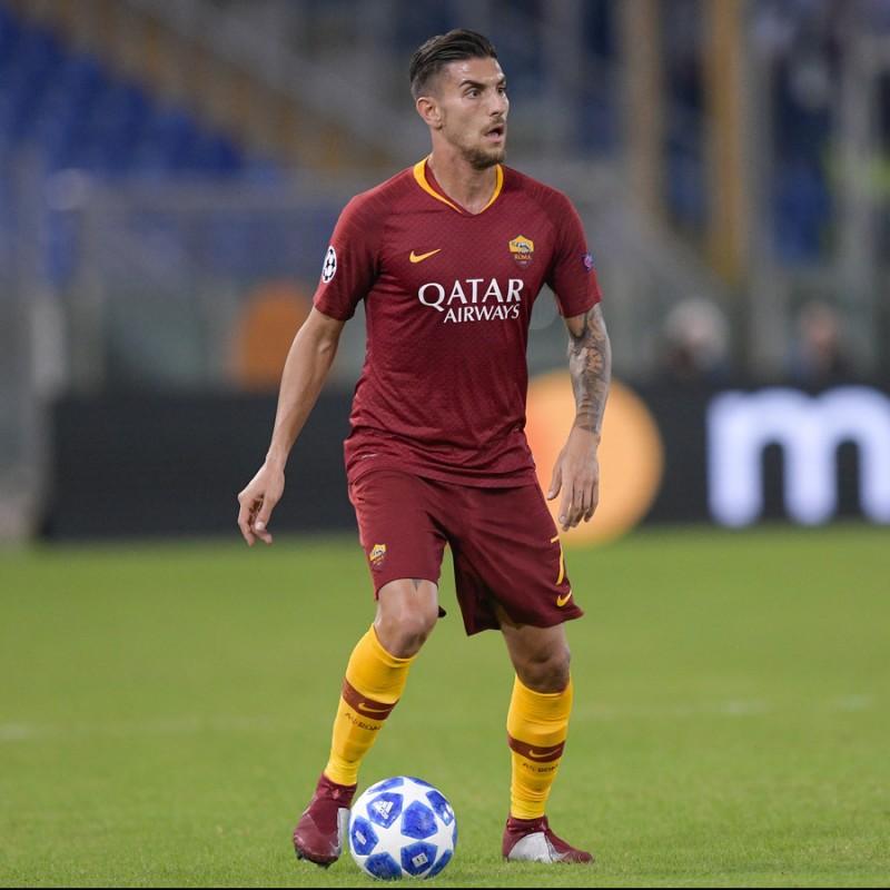 Pellegrini's Roma Worn Shorts, 2018/19