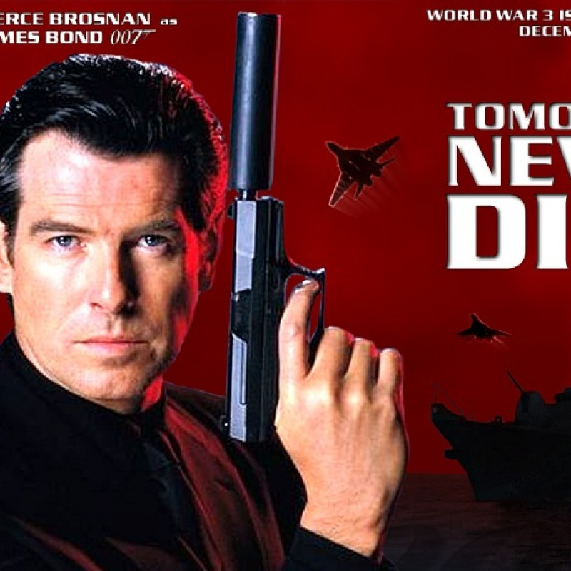 Production Used Storyboards from the James Bond Film Tomorrow Never Dies