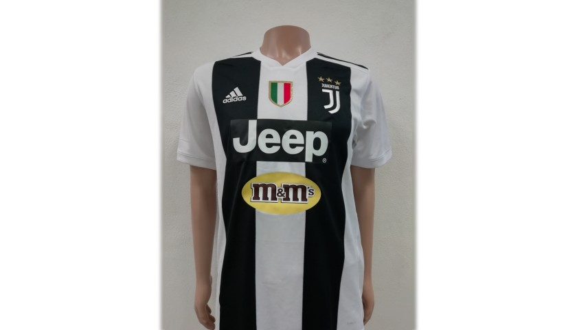 Franco's Juventus Match-Issue Signed Shirt, 2018/19