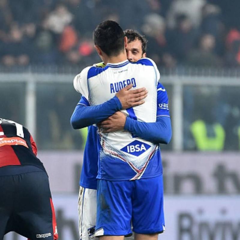Audero's Worn Shirt, Genoa-Sampdoria, Special Gaslini