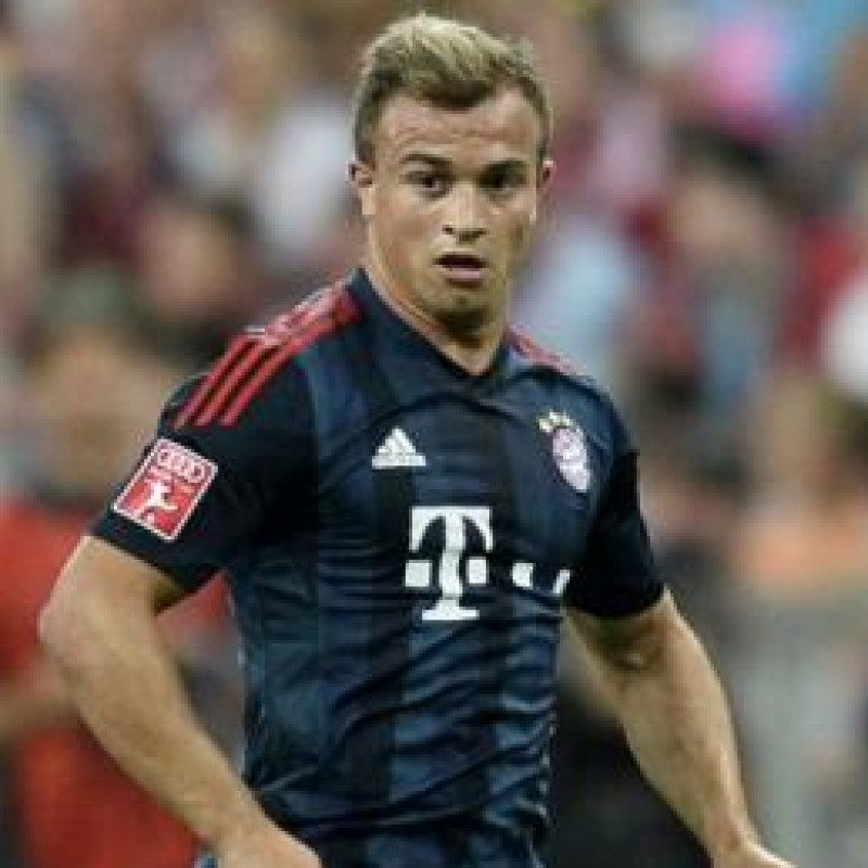 Shaqiri's Official Bayern Munich Signed Shirt, 2013/14