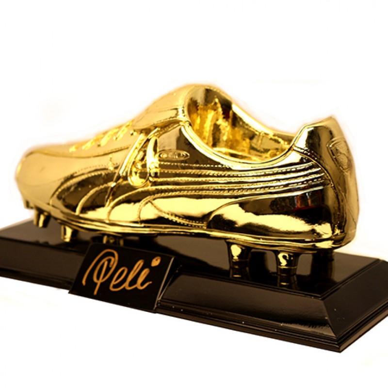 Signed Pelé Golden Boot