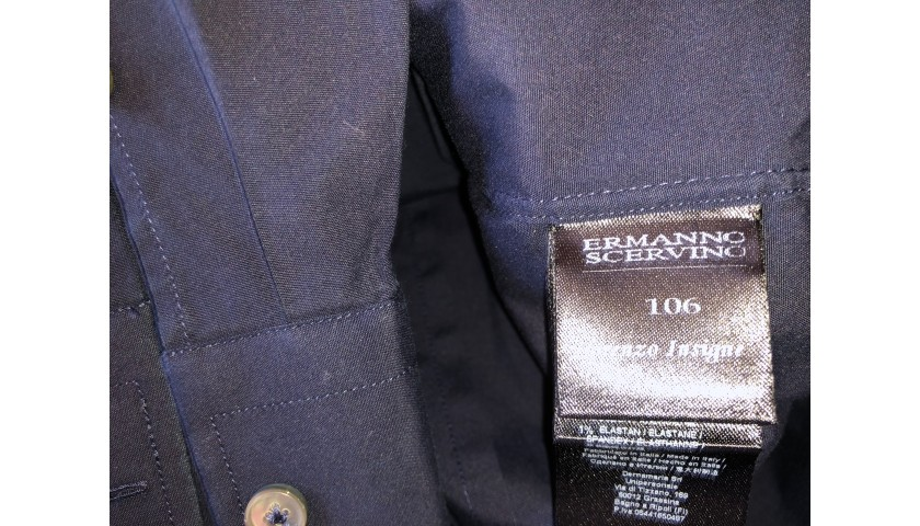 Lorenzo Insigne's Italy National Football Team Shirt by Ermanno Scervino