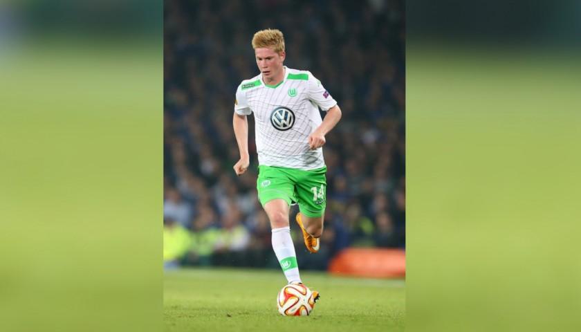 size 40 8dacf d8c01 Kevin De Bruyne Match Worn/Issued Wolfsburg Football Shirt - CharityStars