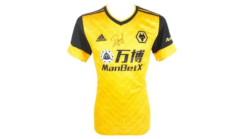 Jimenez's Wolves FC Signed Shirt