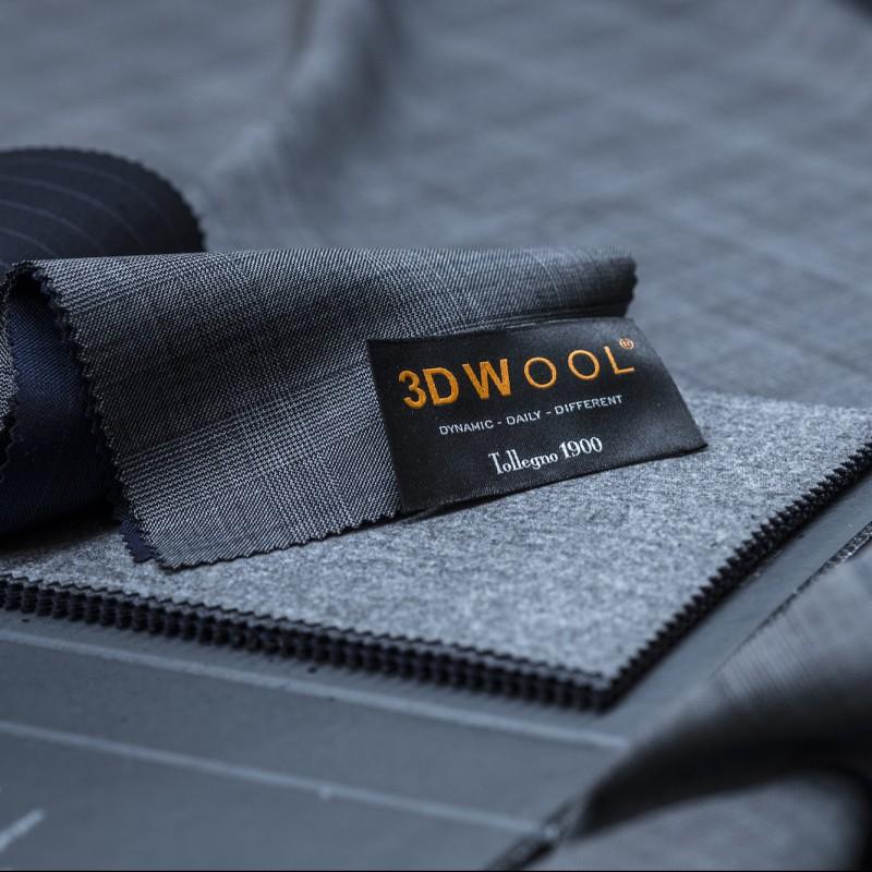 Tollegno 1900 Cut of Fabric for Men's Suit