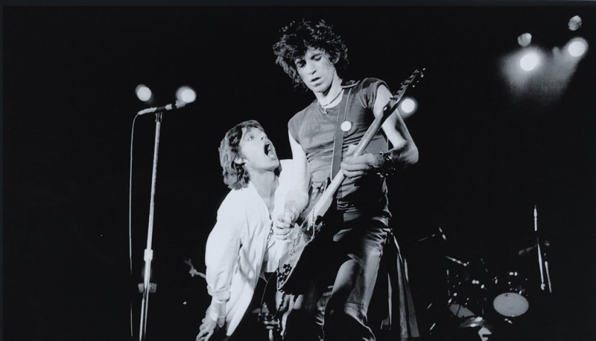 """Keith and Mick"" by Richard Aaron"